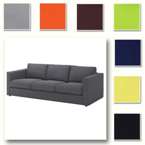 Image Is Loading Custom Made Cover Fits Ikea Vimle Sofa Three