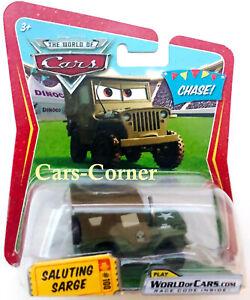 Disney-Pixar-Cars-1-Saluting-Sarge-100-der-Alte-Army-Jeep-mit-Prinzipien-OVP