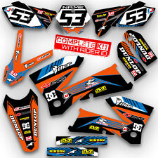 2005 2006 KTM SX 125 250 450 525 GRAPHICS KIT DIRT BIKE MOTOCROSS DECALS DECA