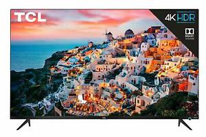 "TCL 50S525 50"" 5-Series 4K UHD Dolby Vision HDR Roku Smart TV w/ 3 HDMI"