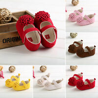 Summer Child Kids Girls Baby Toddler Prewalker Sandals Princess Soft Crib Shoes