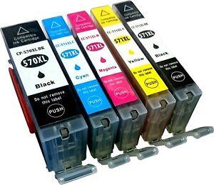 5-Non-Oem-per-Canon-Pixma-PGI570XL-CLI571XL-MG5700-MG5750-MG5751-Ink-Cartucce
