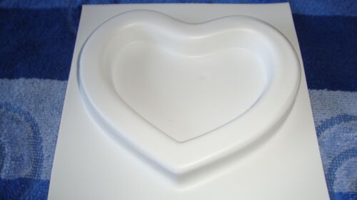 1 hübsches Herz Gießform
