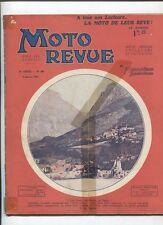 Moto Revue N°408  ; 3 janvier 1931  : le changement de vitesse au pied