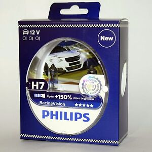h7 philips racingvision 150 12972rvs2 racing vision x