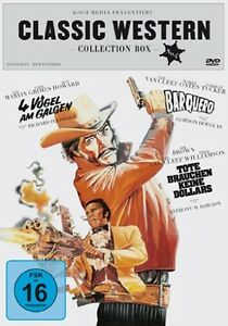 CLASSIC-WESTERN-BOX-LEE-Marvin-VAN-CLEEF-Forrest-Tucker-3-DVD-Collezione-Nuovo
