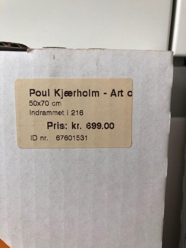 Plakat, motiv: Poul Kjærholm PK22, b: 50 h: 70
