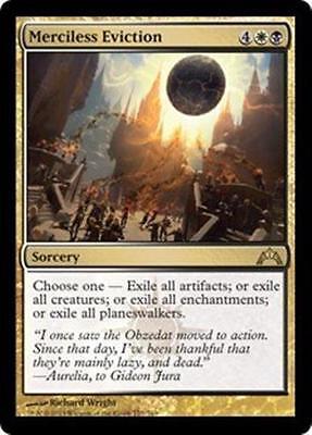 MERCILESS EVICTION Gatecrash MTG Gold Sorcery RARE