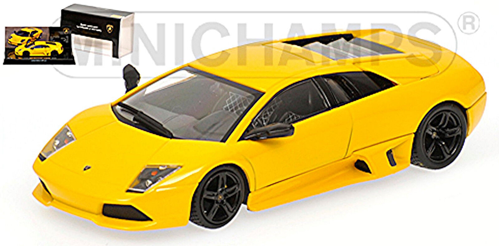LAMBORGHINI Murcielago LP 640 GIALLO 2006-09 Limited. edit 1 43 MUSEO COLLECTION 12