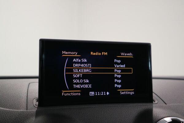 Audi A3 1,4 TFSi 122 Ambition Sportback  S-tr. billede 8