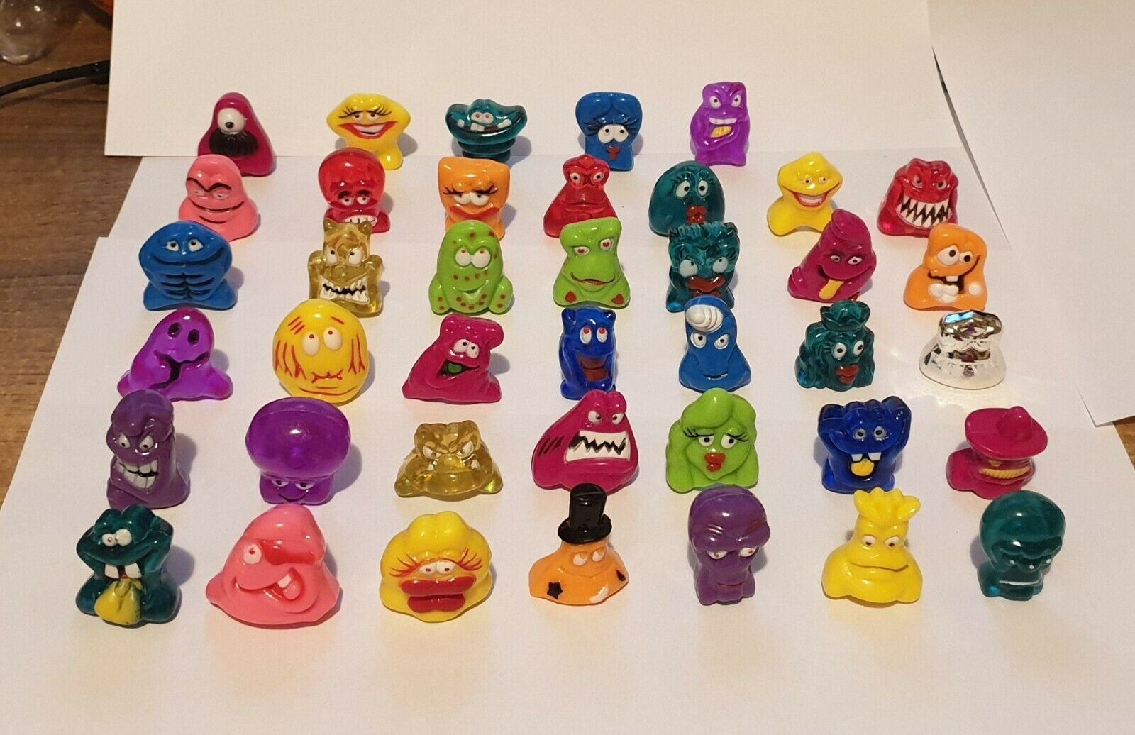Dracco Collection DRACCO HEADS COMPLETE PAINTED SET VERY RARE