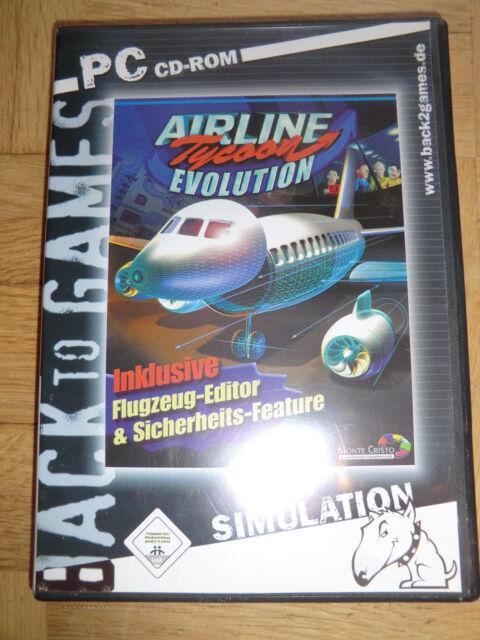 Airline Tycoon Evolution (PC, 2003, DVD-Box)