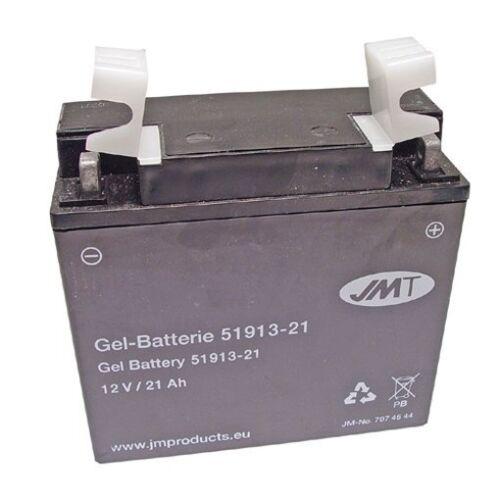 Gel Batterie 51913//22ah LAVERDA Black Strike 750 Bj 1999-2001