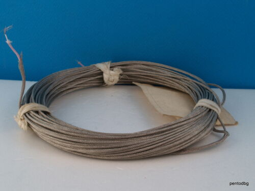10m~32 ft 26AWG 1X0.12mm2 15X0.1mm  COPPER SHIELDED TEFLON PTFE CABLE  SQ