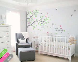 Image Is Loading Tree Wall Decals Wall Decor Nursery Wall Mural