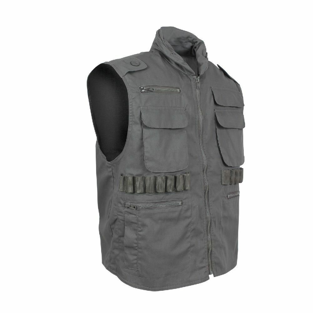 Olive Drab Military Tactical Ranger Vest With Hood redhco 7566