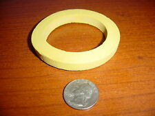 Fire Hose Npsi Adapter Gasket Yellow Neoprene 3 X 2 X 38 Pipe Seal Ring Fitting