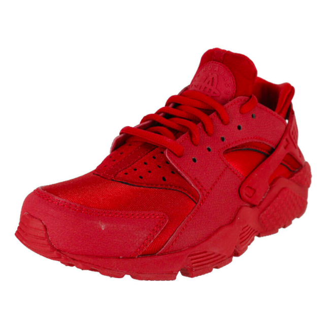 triple red huarache womens
