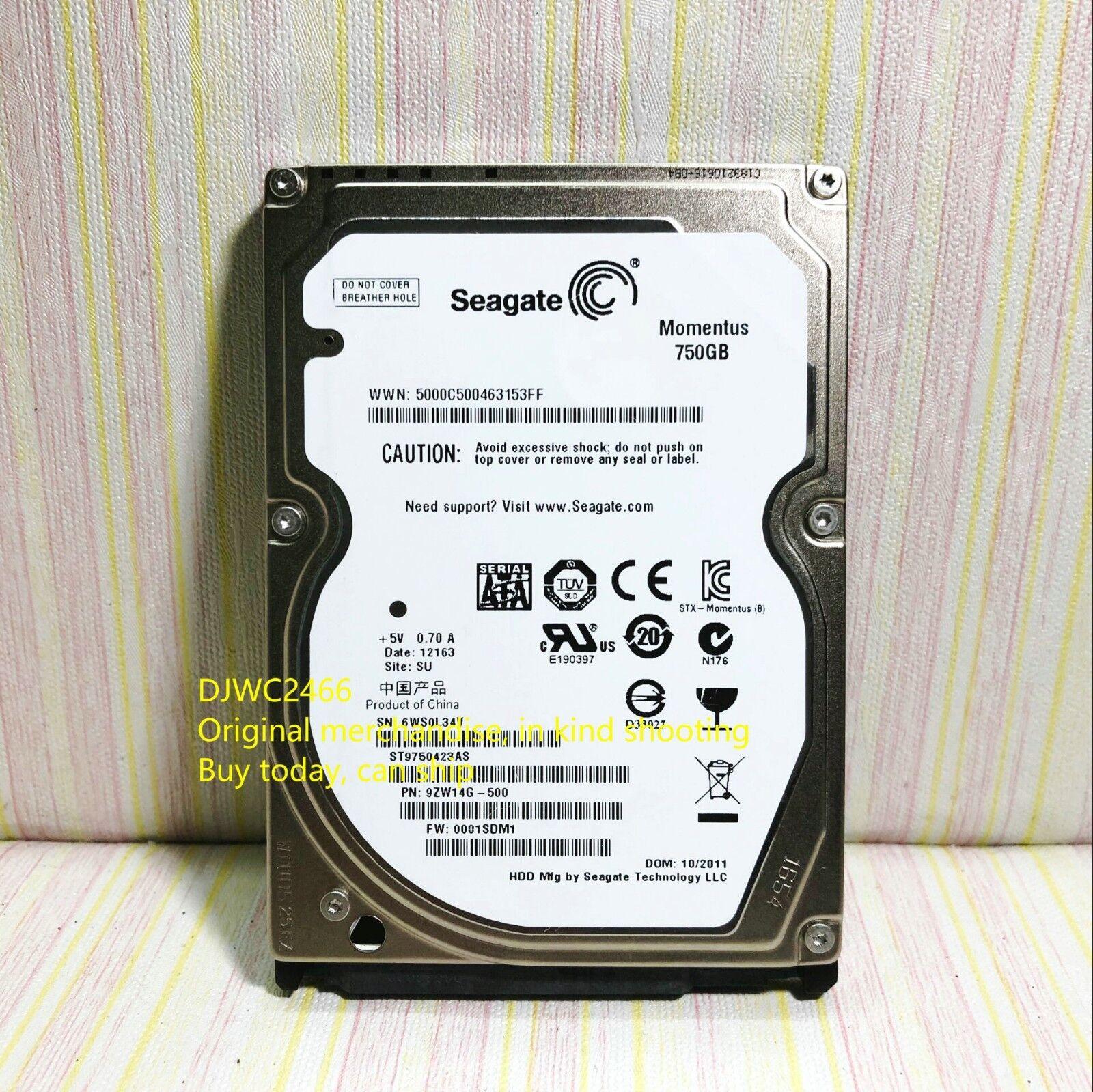 Seagate Momentus 750GB,Internal,7200RPM,2 5