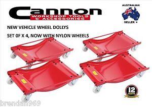 WHEEL-DOLLY-Set-OF-4-CAR-DOLLIES-450kg-Positioning-Dollys-Trailer-Caravan-Boat