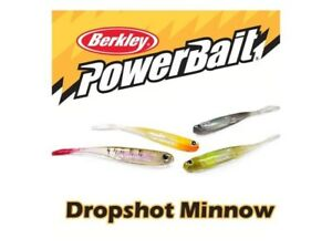 Berkley-Powerbait-Dropshot-Minnow-3-034-New-in-Package-Choice-of-Colors