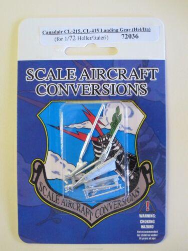 Canadair CL-215 CL-415 Landing Gear For 1//72nd Heller//Italeri// SAC 72036