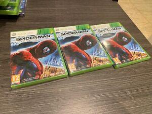 Spider-Man-Edge-Of-Time-Xbox-360-Versiegelt-Neu-IN-Spanisch
