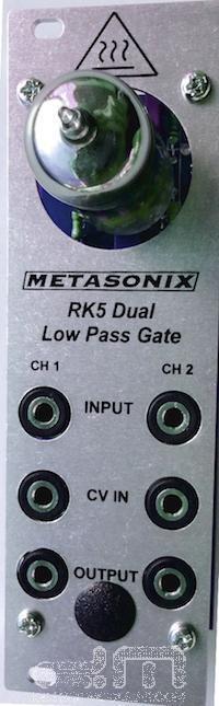 Metasonix RK5 Doppelt Tiefpass Tor  Neu Detroit Modular]