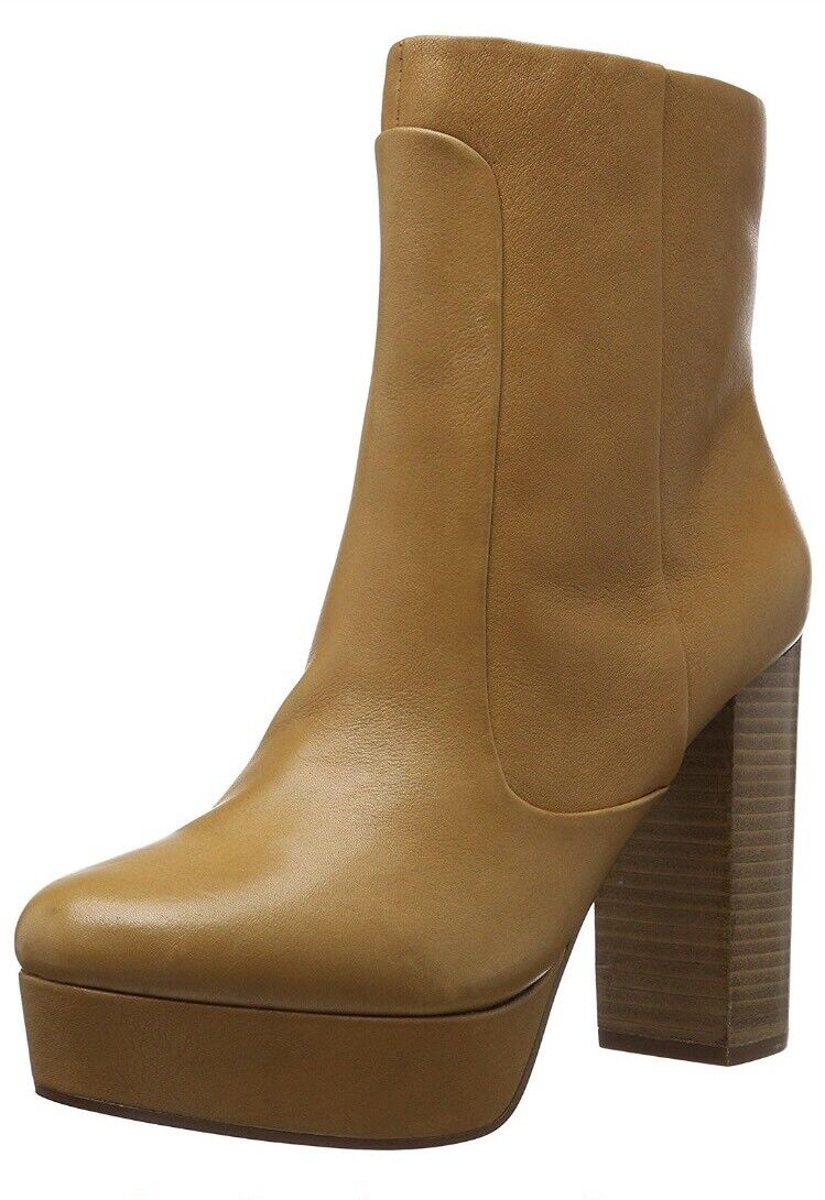 ALDO Women's Kobo Ankle Boots Brown (Camel 38) 7 UK 40 EU