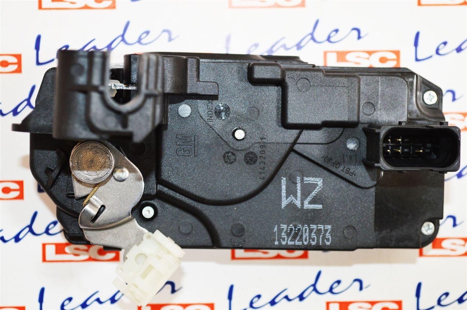13220373  Authentisch Vauxhall Hinten Links  Beifahrerseite Türschloss