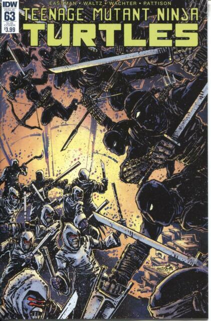 Teenage Mutant Ninja Turtles TMNT (2011 Series) #63 S NM- 9.2