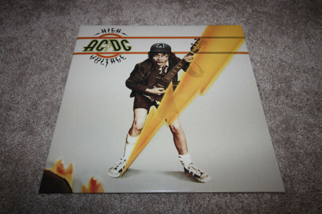 AC/DC High Votlage Vinyl Record. 180g Modern Reissue. Early 2000's EPIC Label