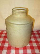 Antique One Gallon Stoneware Crock Jar with Ceramic Liner - READ DETAILS!!