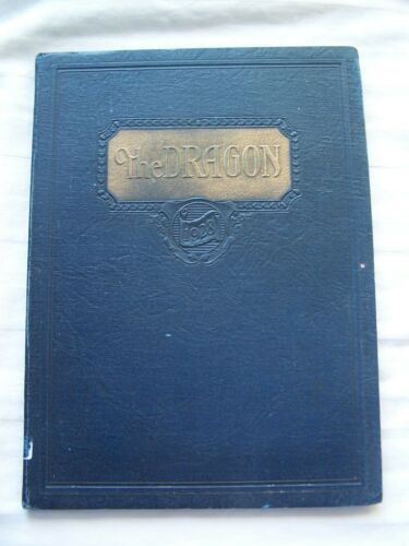1928-FAIRMONT-HIGH-SCHOOL-YEARBOOK-KETTERING-OHIO-DRAGON