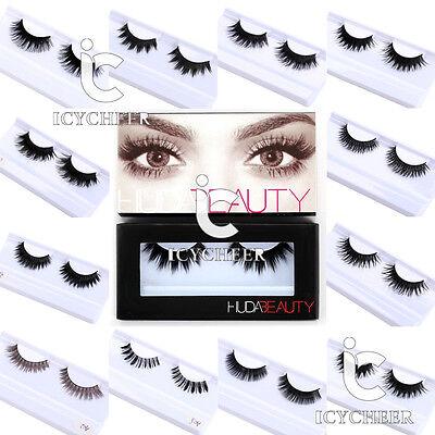 Beauty Makeup False Eyelashes Set With Case Eye Lashes Handmade Soft Extension