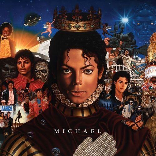 "CD Album Michael Jackson ""MICHAEL"" 2010 -10 Tracks"