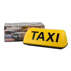 14 inch 6 LED Taxi Cab DIY Sign Roof Top Topper Car Bright Light Strong PINK