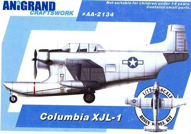 Anigre Craftlavoros AA2134  1 72 Columbia XJL1  Nuovo