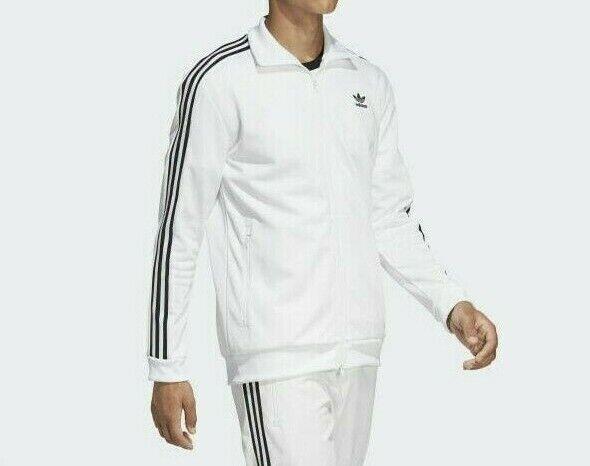 lección consonante Deportes  adidas Beckenbauer Tracktop Originals Tracksuit Jacket White BR2296 L for  sale online | eBay