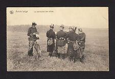 37978/ AK - Armée belge - La distribution des ordres - (*)