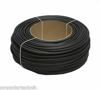 100 m Ringleitung - 6 mm² Solarkabel - UV-, ozon- und wetterbeständig