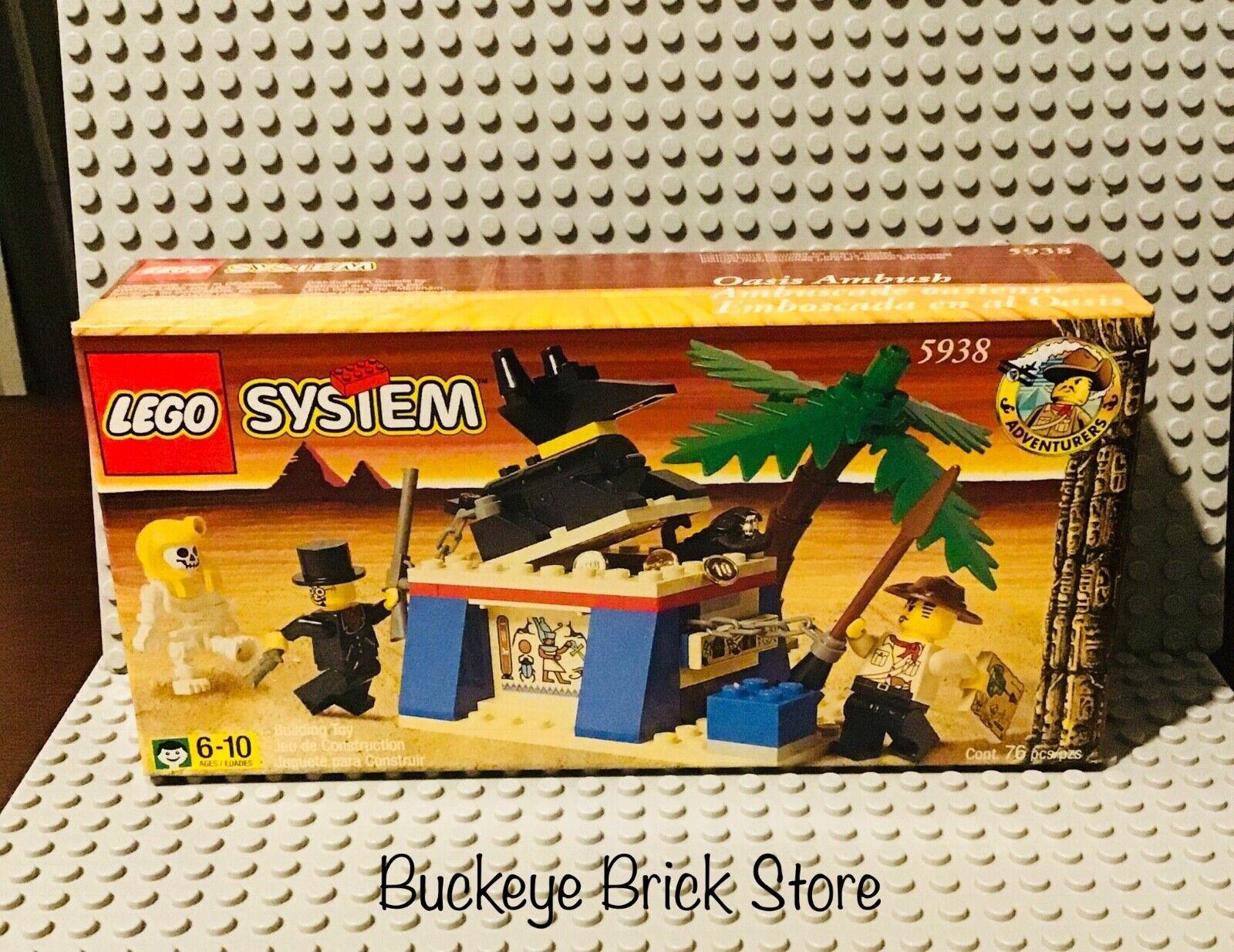 Juego De Lego 5938 Oasis Ambush