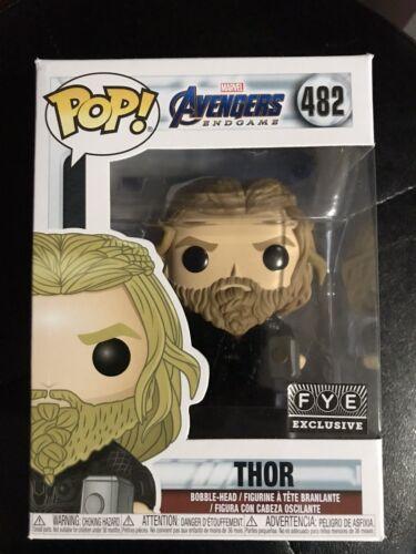 Funko Pop Marvel Avengers Endgame Thor Fye Exclusive #482 In Protector