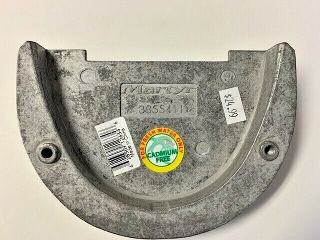 Martyr Anodes CM3855411M Magnesium Volvo Outdrive Anode 3855411M 3855411