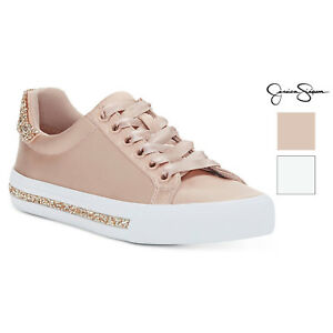 Simpson Glitter Drister Sneakers Encrusted Jessica Womens up Lace Rtvx44wd