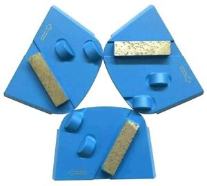 New 6PK 30//40 Med Bond Diamond Grinding Blocks Fit EDCO,STOW,HUSQ./&Gen Grinders
