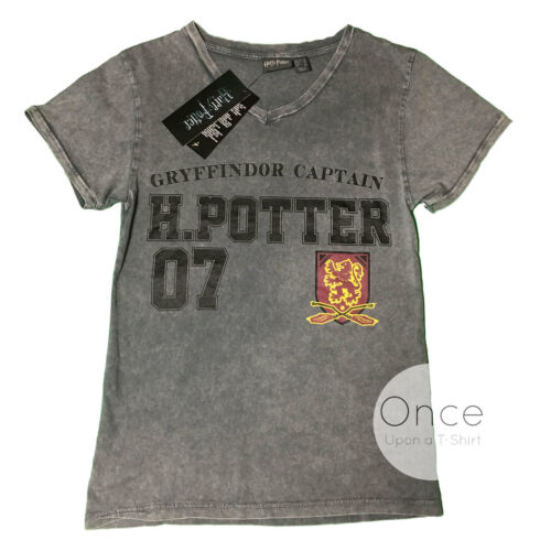 Primark Official HARRY POTTER Gryffindor Captain H.Potter T Shirt