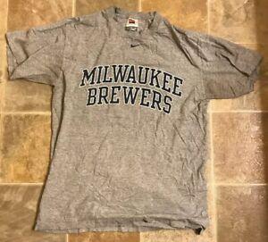 best service ff8e3 16f17 Details about Milwaukee Brewers Vintage T-shirt M