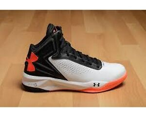 dac73bb52d71 NEW Under Armour Torch White Black After Burn orange basketball ...