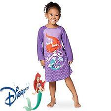 Disney Store Little Mermaid Ariel Princess NightGown Pajamas 5 6 Nightshirt  Pjs 3f14ff84b